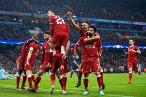 Thất bại ở lượt về trước Liverpool, Man City dừng bước Champions League