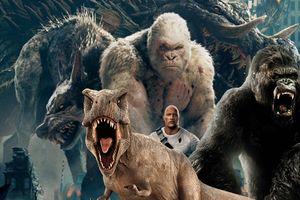 Godzilla, King Kong, khủng long và loạt siêu thú khổng lồ khiến khán giả sợ hãi