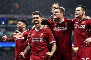 Liverpool đánh bại Man City, Barca gục ngã trước Roma