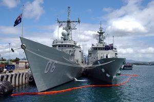 Ba tàu Hải quân Hoàng gia Australia sẽ ghé thăm Việt Nam