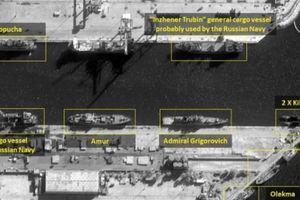10 chiến hạm Nga bất ngờ rời cảng Syria sau khi Trump dọa nã tên lửa