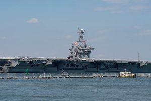 Nga hạ thấp 'tính nguy hiểm' của việc Mỹ điều tàu sân bay tới Trung Đông