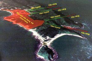 Quy hoạch bến cảng đa năng đảo Cái Chiên không được lấn vào đất rừng tự nhiên