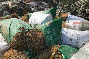 Phát hiện cơ sở tái chế kim loại xả thải gây ô nhiễm