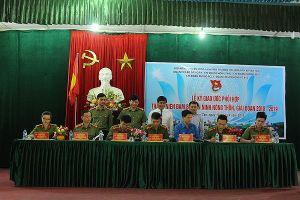 Giao ước phối hợp đảm bảo tốt an ninh nông thôn