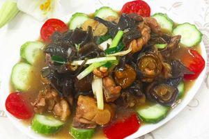 Gắp không ngừng đũa với gà sốt nấm hương thơm phức cho bữa cơm chiều trọn vị ngon