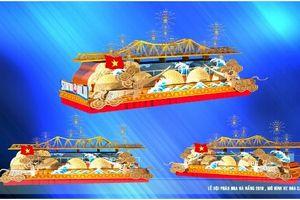 Mô phỏng những cây cầu nổi tiếng trong lễ hội xe hoa ở Đà Nẵng