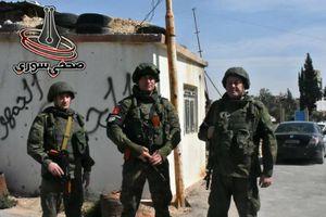 Nga triển khai lực lượng Quân cảnh trên khắp Douma, Syria
