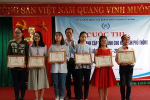 Quảng Bình khuyến khích dạy tiếng Anh trong nhà trường