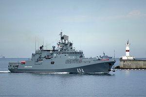 Vì sao hàng loạt tàu chiến Nga 'lặng lẽ' rời cảng Tartus - Syria?