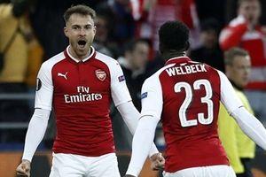 Hòa hú vía với CSKA Moscow, Arsenal vào bán kết