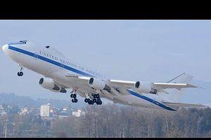 Khám phá 'Trung tâm chiến dịch trên không' E-4B Nightwatch của Mỹ