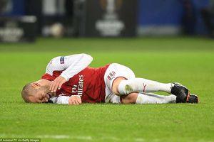Vượt qua CSKA Moscow, Arsenal mất 2 trụ cột vì chấn thương