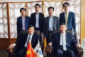 Thứ trưởng Bộ KH&ĐT tiếp Đại sứ Hàn Quốc chào từ biệt