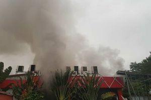 Hải Phòng: Cháy lớn ở quán bia nổi tiếng, người dân bỏ chạy tán loạn