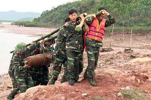 Phát hiện quả bom nặng 225 kg khi mở đường cao tốc Vân Đồn - Móng Cái