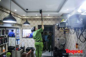 Hà Nội: Kiểm tra đột xuất PCCC: Căn hộ tầng 23 'hô biến' thành Salon tóc, không ai phát hiện ra