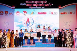 Yamashita Hồng Ân đoạt quán quân Cuộc thi 'Thực hiện ước mơ' lần 6