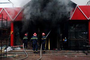 Hàn sì gây cháy lớn tại Câu lạc bộ bia hơi ở Hải Phòng