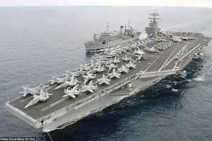 Mỹ tung hạm đội khủng áp sát Syria, Nga đối đầu với trục Mỹ-Anh-Pháp chực ồ ạt tấn công