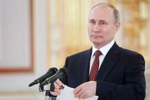 Thu nhập của ông Vladimir Putin năm 2017 tăng gấp đôi năm trước