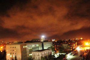 Syria tuyên bố bắn hạ 20 tên lửa