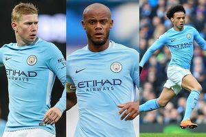 Đội hình mạnh nhất của Man City ở trận đại chiến với Tottenham