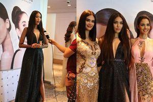 Đọ sắc cùng 2 hoa hậu quốc tế, Lan Khuê khiến dân tình 'bấn loạn' vì thần thái sang chảnh