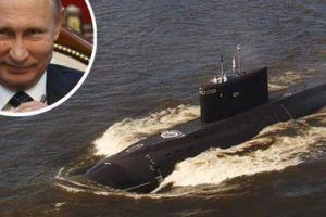 'Hố đen đại dương' Nga săn lùng tàu ngầm Anh ngoài khơi Syria