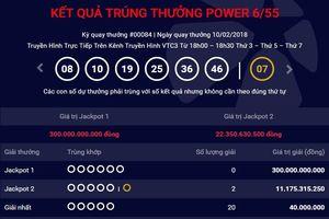 Liên tiếp có người trúng Jackpot 2, giải thưởng 300 tỷ đồng vẫn không 'nổ'