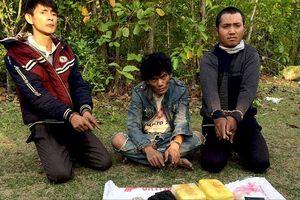 Bắt 3 người Lào định mang ma túy vào Việt Nam