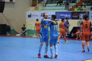 Xác định 4 đội vào bán kết giải Vietnam Futsal League 2018