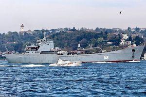 Tàu hải quân Nga đưa thêm vũ khí tới Syria?