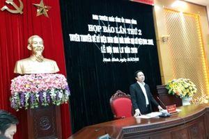 Ninh Bình: Kỷ niệm 1050 năm Nhà nước Đại Cồ Việt (968-2018) và Lễ hội Hoa Lư năm 2018