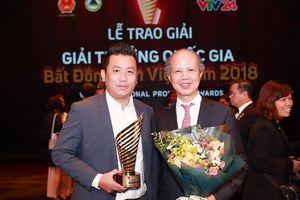 DKRA Việt Nam đạt giải Quốc gia Bất động sản VN 2018