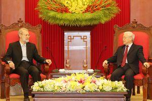 Tăng cường quan hệ nghị viện Việt Nam - Iran