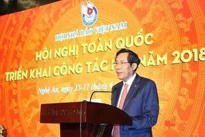 Xác định rõ nhiệm vụ trọng tâm và tìm giải pháp đột phá, tạo bước chuyển mạnh mẽ trong hoạt động của Hội Nhà báo Việt Nam *
