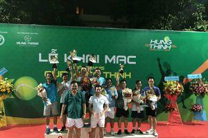 Sôi nổi giải quần vợt Hưng Thịnh Cup 2018