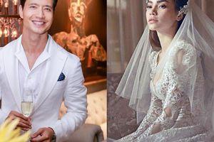 Kim Lý có phải là người giúp Hà Hồ mặc áo cô dâu lần cuối?