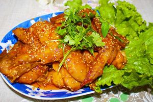 Cánh gà sốt chua cay kiểu thái đổi vị bữa cơm cho gia đình