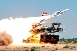 Phòng không Syria ra uy bắn hạ loạt tên lửa hành trình Israel