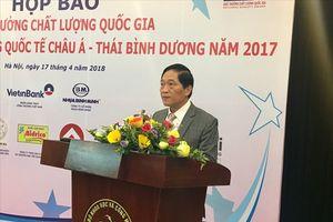 73 doanh nghiệp được trao Giải thưởng Chất lượng quốc gia năm 2017