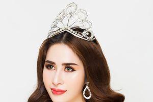 Người mẫu vòng eo 58 Princess Ngọc Hân tham dự đấu trường sắc đẹp Miss Glam World