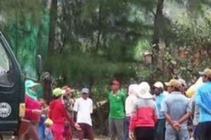 Bình Định: Ngăn người dân kéo lên quốc lộ 1, cản trở thi công dự án điện gió