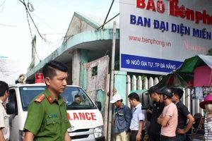 Đà Nẵng: Hãi hùng công nhân rơi từ tầng 12 tử vong