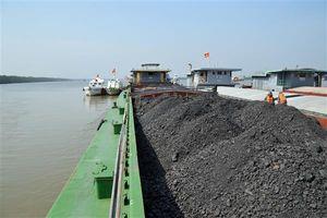 Cảnh sát biển 1 tạm giữ 1.200 tấn than vi phạm