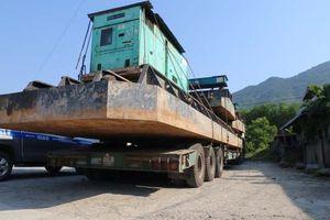 Huế: Thêm một vụ vận chuyển quá tải trọng bị phạt hơn 77 triệu đồng