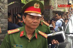 Sau 5 tiếng, công an rời khỏi nhà ông Trần Văn Minh