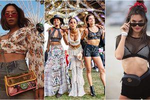 Coachella 2018: Croptop và bra chiếm áp đảo street style của giới trẻ