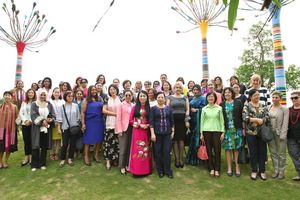 Chuyến thăm của các nữ Đại sứ, nữ Trưởng Đại diện các tổ chức quốc tế… tới quê hương Phu nhân Chủ tịch nước đã để lại dấu ấn sâu sắc